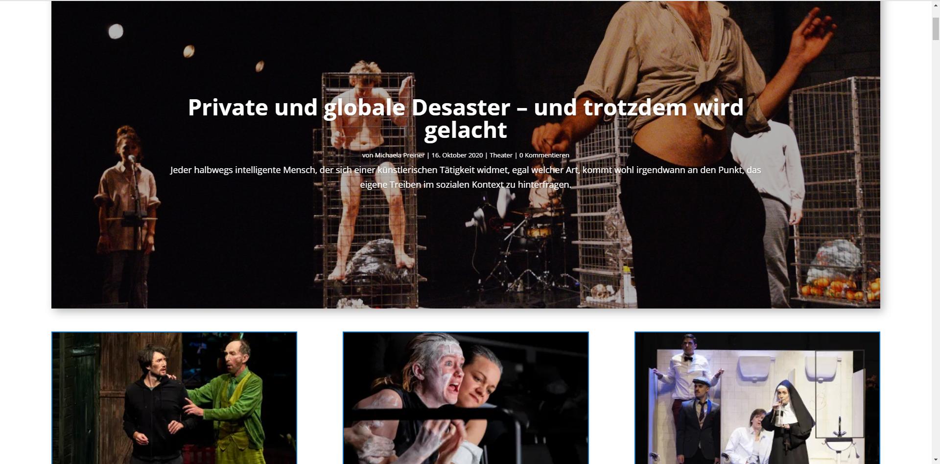 European Cultural News . Das Kulturmagazin in Österreich
